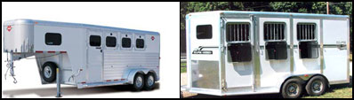 3 Horse Trailers for sale