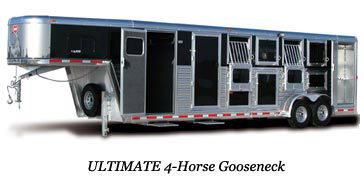 Ultimate 4-Horse Gooseneck